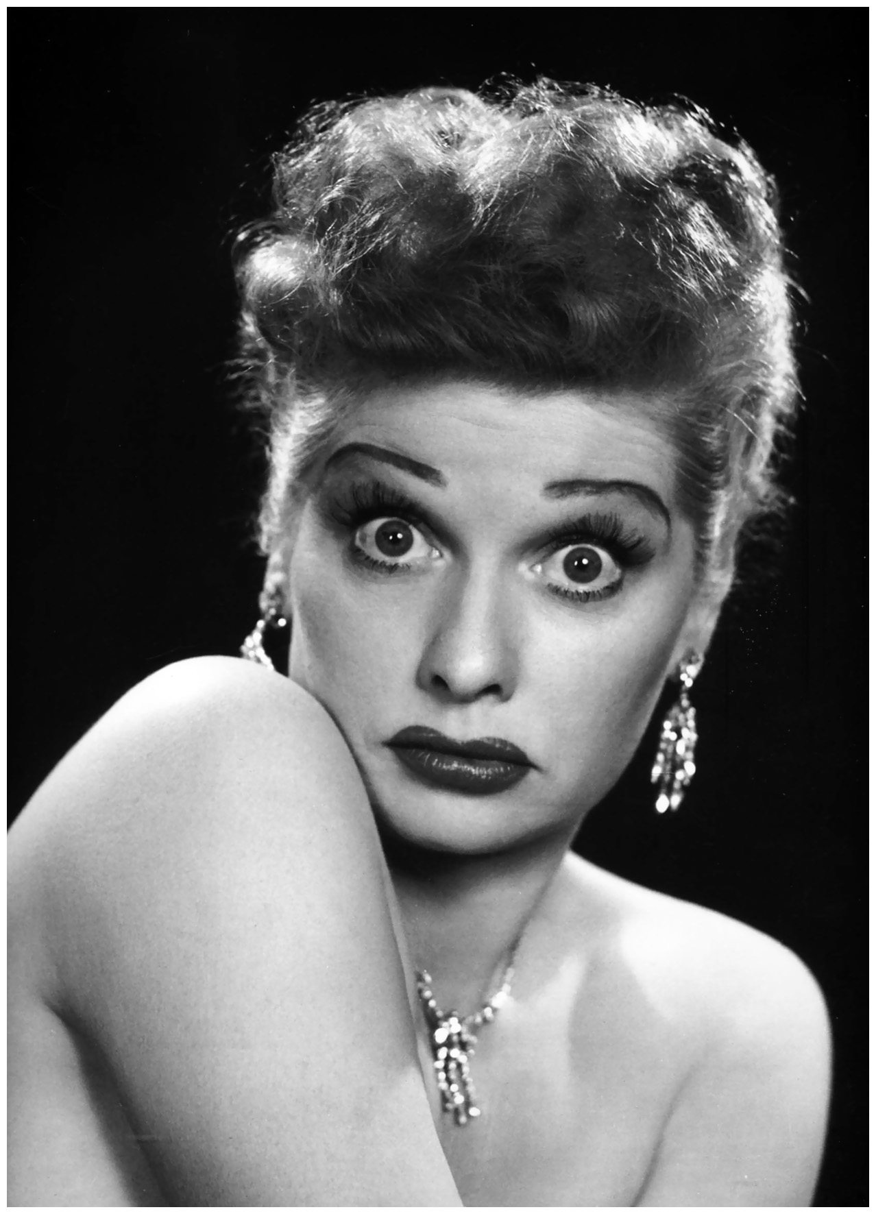 Philippe Halsman American Actress Lucille Ball 1950